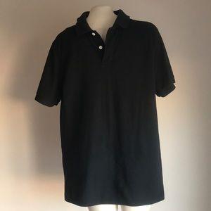 Black polo shirt Large